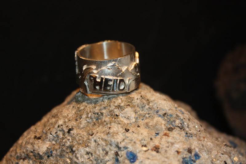 """Themen-Ring-Unikat """"Heidi"""""""